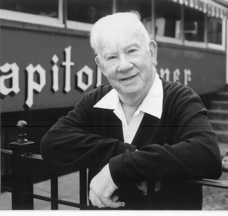 Picture of Buddy Fennell by the Capitol Diner