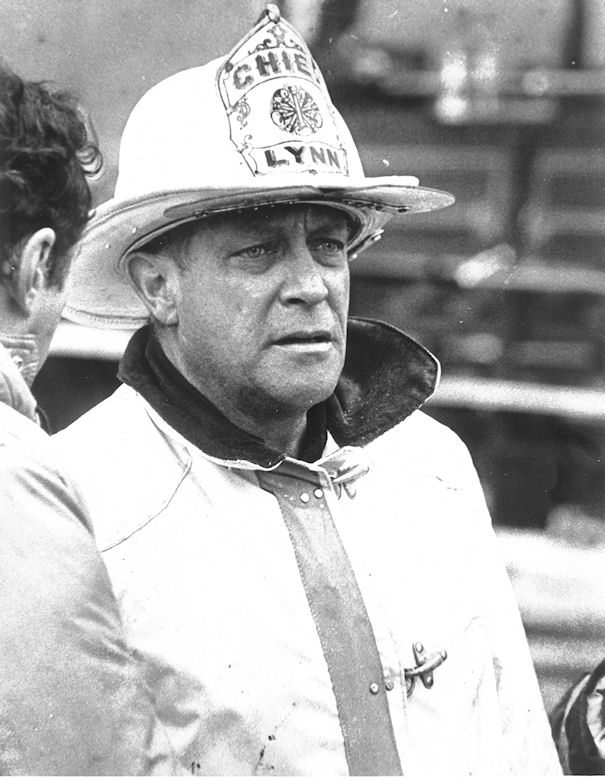 Joe Jr. in Fire Chief uniform