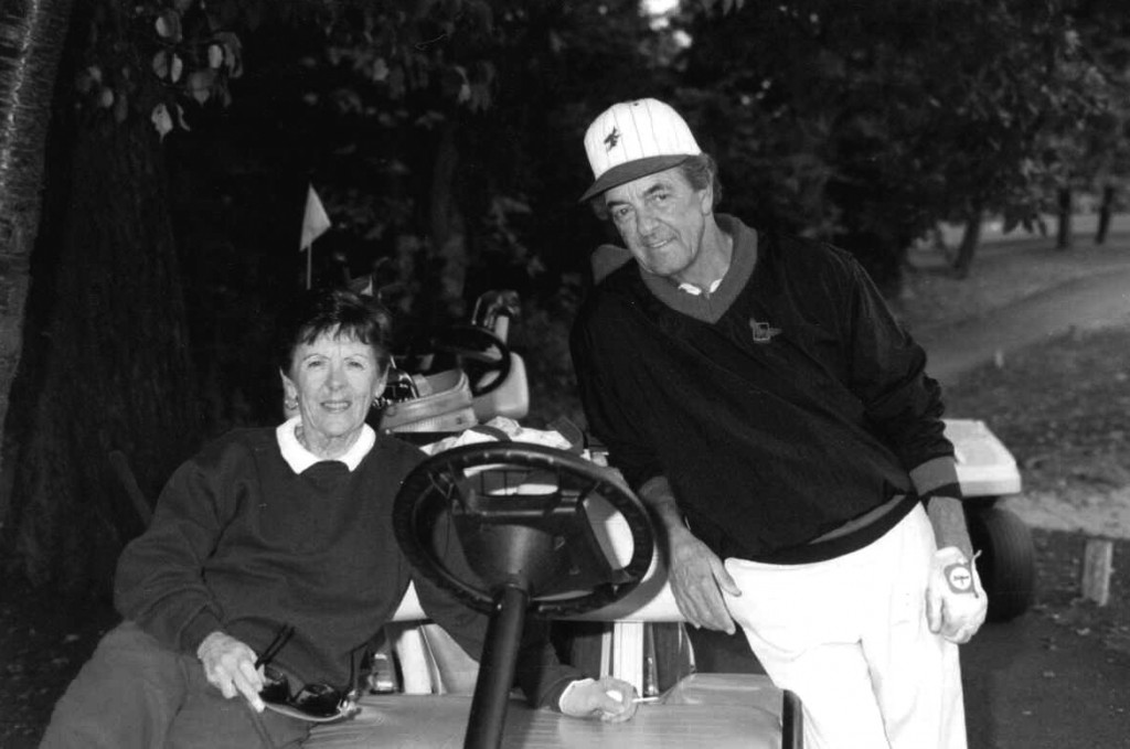 Louis J. Panakio and his late wife, Marcia enjoyed golfing together. They were married for 53 years.