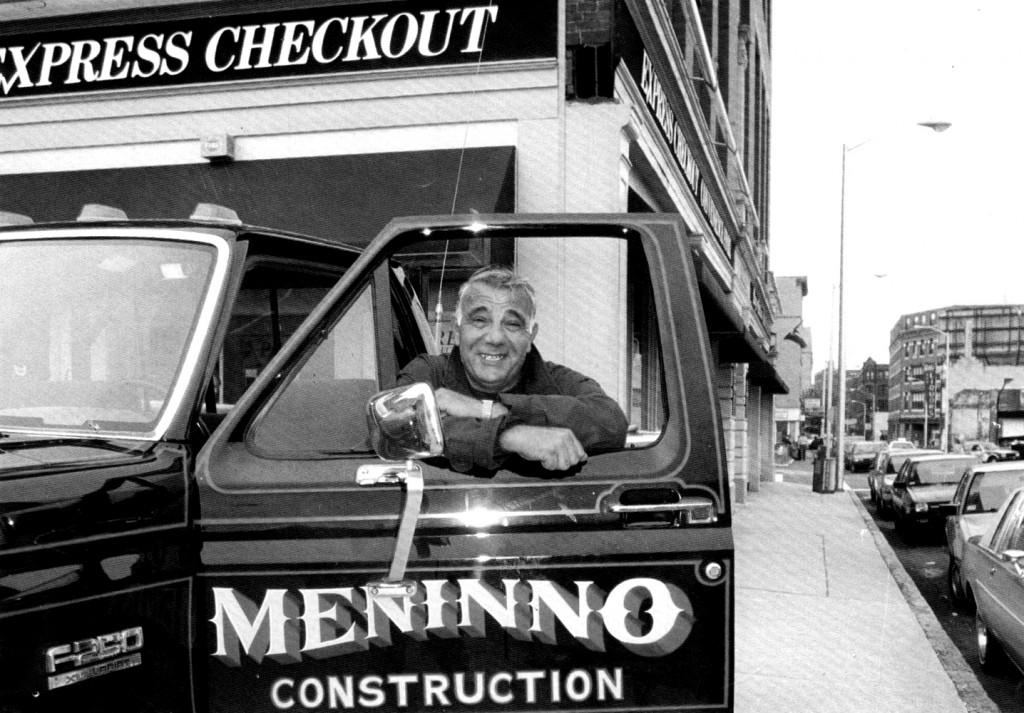 Nick Meninno of Meninno Construction was featured in the department of Community Development's 1990 calendar